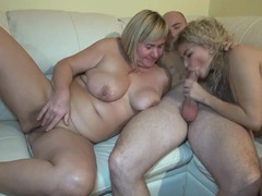 Two lovely chicks take turns sucking a dick videos