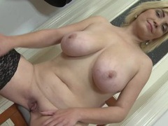 Solo milf has big beautiful natural tits videos