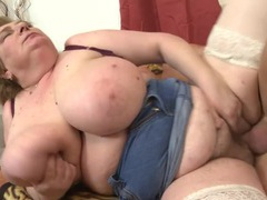 Hairy mature bbw fucked in her wet cunt movies at lingerie-mania.com