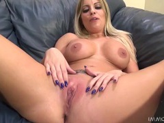 Britney amber rides the sybian and sucks cock movies at find-best-babes.com