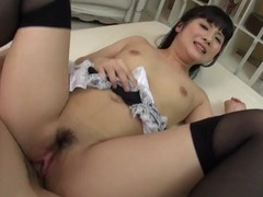 Asian maid in stockings fucked hardcore movies at sgirls.net