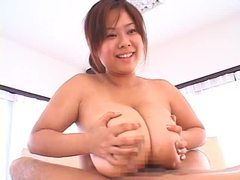 Huge japanese boobs girl gives titjob tubes at japanese.sgirls.net