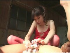 His mistress shaves him clean tubes at japanese.sgirls.net