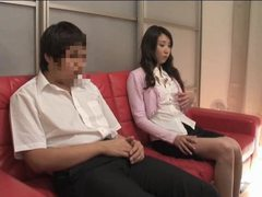 He rubs cock as she masturbates tubes at japanese.sgirls.net