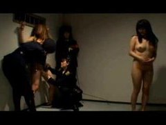Police officers play with bound japanese girl videos