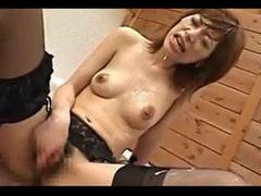 Cum all over this japanese chick movies at lingerie-mania.com