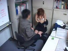 Japanese girl fucked by office mate movies at sgirls.net
