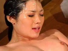 Japanese girls covered in sticky goop tubes at lingerie-mania.com