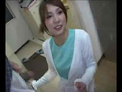 Fully dressed japanese girl giving secret blowjob tubes at japanese.sgirls.net