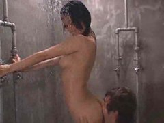Japanese girl given creampie in the shower videos