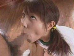 Cute japanese girl sucking a hot dick videos