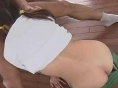 Japanese chick sucks balls and his cock tubes at japanese.sgirls.net