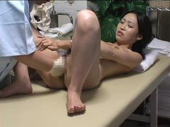 Japanese girl massaged and fingered videos