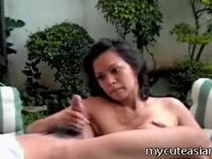 Hot asian babe tug and tittie fuck! tubes at asian.sgirls.net