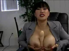 Asian office babe with big tits plays solo tubes at korean.sgirls.net