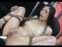 Tied asian extreme toys tubes at korean.sgirls.net