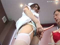 Femdom nurse anal strapon in hospital movies at adipics.com