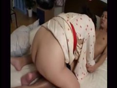 Asian milf has dinner and takes creampie tubes at korean.sgirls.net