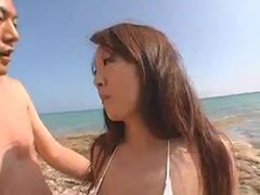 Asian with big tits having sex at beach tubes at thai.sgirls.net