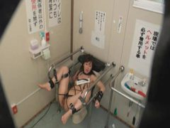 Girl bound on public toilet and fucked by strangers tubes at find-best-asian.com