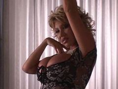 Huge titty asian blonde milf dancing tubes at asian.sgirls.net