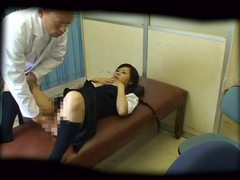 Schoolgirl used by schooldoctor tubes at find-best-asian.com