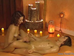 Relaxing touching lingham massage videos