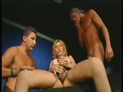 Shemale has a guy riding her cock and in her mouth movies at sgirls.net