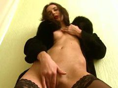 Charming russian in stockings movies at freekilomovies.com