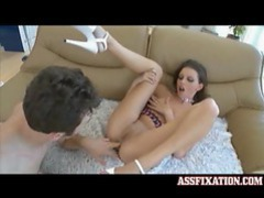 Her asshole is where his big cock wants to go videos