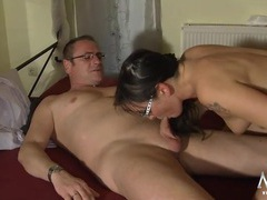 Small dick guy and his girl have hot sex movies at find-best-mature.com