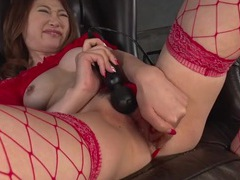 Sexy red lingerie on a sweet japanese girl videos