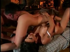 Erotic pornstar massage becomes lesbian threesome movies at sgirls.net