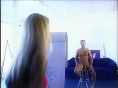 Nicole sheridan blows the male nude model videos