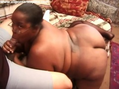 Fat black slut covered in hot cum videos