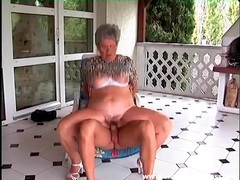 Chubby grandma on top of a hard dick videos
