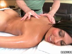Rachel starr sensually rubbed down by oiled hands videos