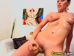 Horny blonde strips and masturbate hd movies at nastyadult.info