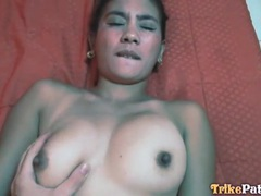 Amateur threesome with blowjob and pov sex tubes at thai.sgirls.net