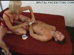 Bound before she sits on his face videos