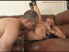 Legs open for the male slave to lick pussy movies at kilovideos.com
