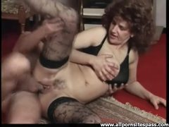 Creampie for a fuck slut in stockings movies