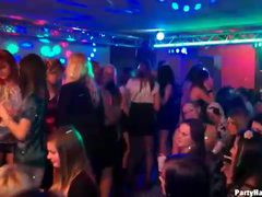 Many hot sluts dance at the night club videos