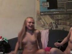 Fully nude teens get to fingering lustily videos