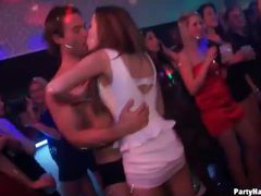 Lots of kissing and dancing at the club movies at kilosex.com