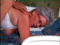 Granny hardcore sex in her hairy wet pussy movies at find-best-lingerie.com