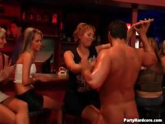Stripper gets blowjobs from party girls movies at kilopics.net