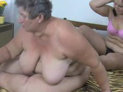 Fat granny and fat milf lesbian dildo sex videos