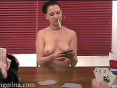 Eating her pussy after a poker game movies at kilosex.com