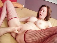 Big tits milf fucked in shaved box until he cums videos